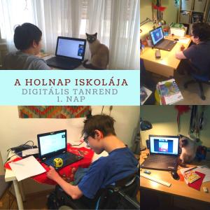 Otthoni tanulás a Holnap Iskolájában