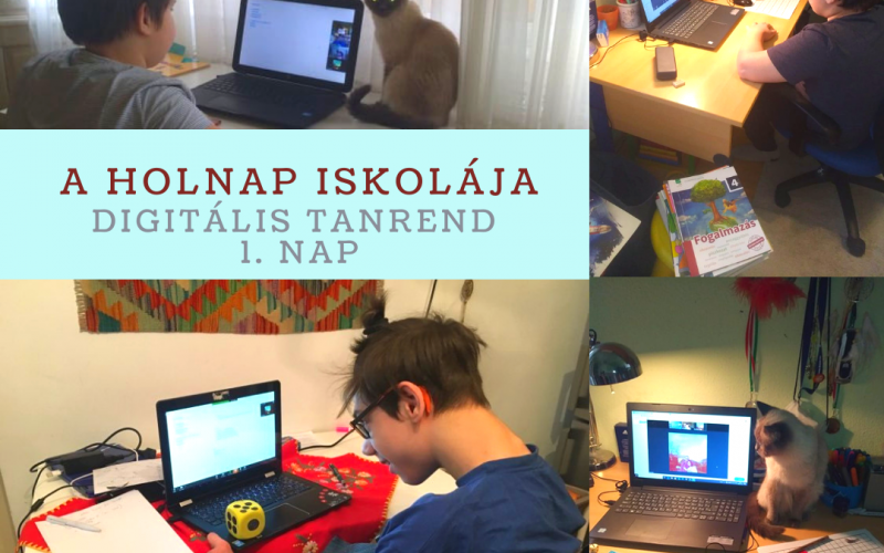 Digitális oktatás a Holnap Iskolájában