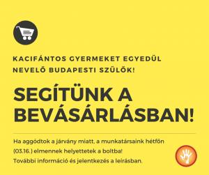 Segítünk a bevásárlásban!